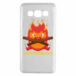 Чохол для Samsung A3 2015 MY HEART ONLY  BURNS FOR YOU