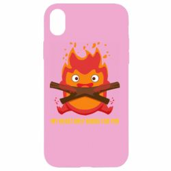 Чохол для iPhone XR MY HEART ONLY  BURNS FOR YOU