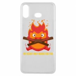 Чохол для Samsung A6s MY HEART ONLY  BURNS FOR YOU