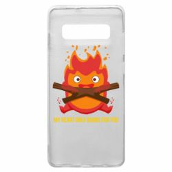 Чохол для Samsung S10+ MY HEART ONLY  BURNS FOR YOU