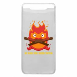 Чохол для Samsung A80 MY HEART ONLY  BURNS FOR YOU