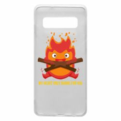 Чохол для Samsung S10 MY HEART ONLY  BURNS FOR YOU