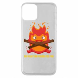 Чохол для iPhone 11 MY HEART ONLY  BURNS FOR YOU