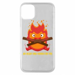Чохол для iPhone 11 Pro MY HEART ONLY  BURNS FOR YOU