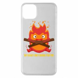 Чохол для iPhone 11 Pro Max MY HEART ONLY  BURNS FOR YOU