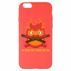 Чохол для iPhone 6 Plus/6S Plus MY HEART ONLY  BURNS FOR YOU