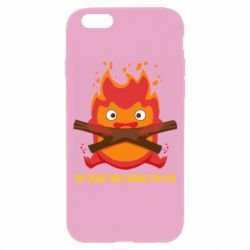 Чохол для iPhone 6/6S MY HEART ONLY  BURNS FOR YOU