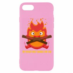 Чохол для iPhone 8 MY HEART ONLY  BURNS FOR YOU