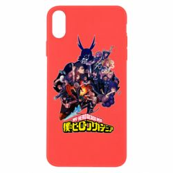 Чохол для iPhone Xs Max My Hero Academia