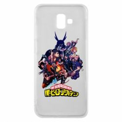Чохол для Samsung J6 Plus 2018 My Hero Academia
