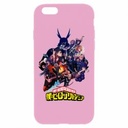 Чохол для iPhone 6 Plus/6S Plus My Hero Academia
