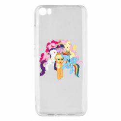 Чехол для Xiaomi Mi5/Mi5 Pro My Little Pony