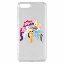 Чехол для Xiaomi Mi Note 3 My Little Pony