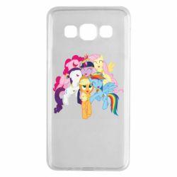 Чехол для Samsung A3 2015 My Little Pony