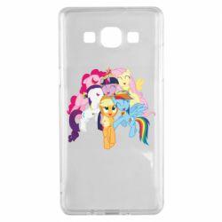 Чехол для Samsung A5 2015 My Little Pony