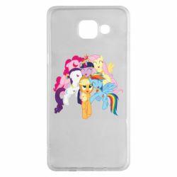 Чехол для Samsung A5 2016 My Little Pony