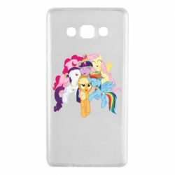 Чехол для Samsung A7 2015 My Little Pony