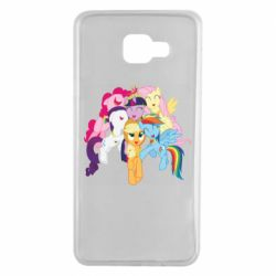 Чехол для Samsung A7 2016 My Little Pony