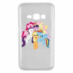 Чехол для Samsung J1 2016 My Little Pony