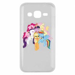 Чехол для Samsung J2 2015 My Little Pony