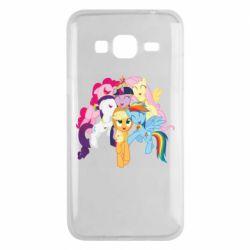 Чехол для Samsung J3 2016 My Little Pony