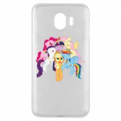 Чехол для Samsung J4 My Little Pony