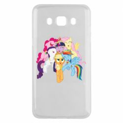 Чехол для Samsung J5 2016 My Little Pony