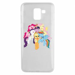 Чехол для Samsung J6 My Little Pony