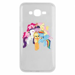 Чехол для Samsung J7 2015 My Little Pony