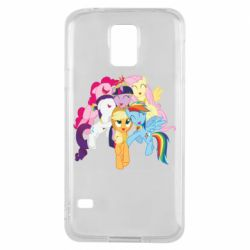 Чехол для Samsung S5 My Little Pony