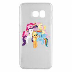 Чехол для Samsung S6 EDGE My Little Pony