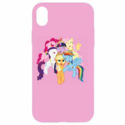 Чехол для iPhone XR My Little Pony