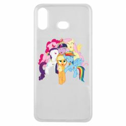 Чехол для Samsung A6s My Little Pony