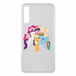 Чехол для Samsung A7 2018 My Little Pony