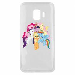 Чехол для Samsung J2 Core My Little Pony