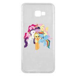 Чехол для Samsung J4 Plus 2018 My Little Pony