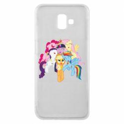 Чехол для Samsung J6 Plus 2018 My Little Pony