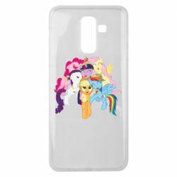 Чехол для Samsung J8 2018 My Little Pony