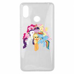 Чехол для Xiaomi Mi Max 3 My Little Pony