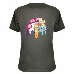 Камуфляжная футболка My Little Pony