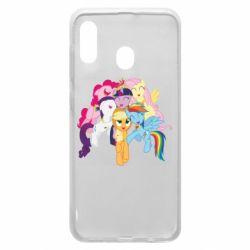 Чехол для Samsung A20 My Little Pony