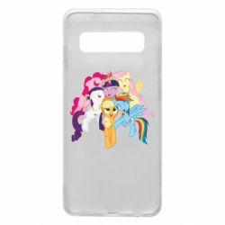 Чехол для Samsung S10 My Little Pony