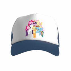 Детская кепка-тракер My Little Pony