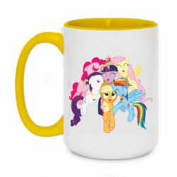 Кружка двухцветная 420ml My Little Pony