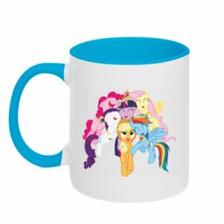 Кружка двухцветная 320ml My Little Pony