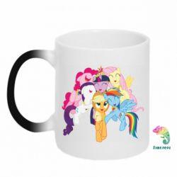 Кружка-хамелеон My Little Pony