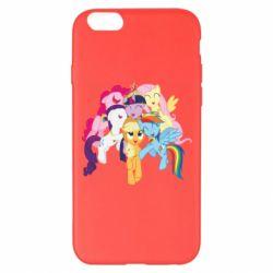 Чехол для iPhone 6 Plus/6S Plus My Little Pony