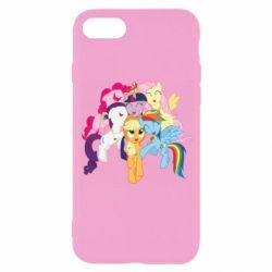 Чехол для iPhone 7 My Little Pony