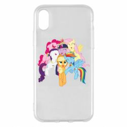 Чехол для iPhone X/Xs My Little Pony