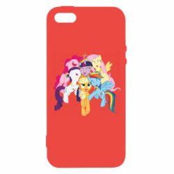 Чехол для iPhone5/5S/SE My Little Pony